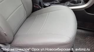 Toyota Corolla одеваем чехлы из экокожи АЧ