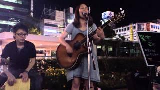 2012年8月23日 川崎駅路上ライブ.