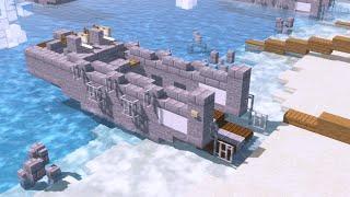 Minecraft Higgins Boat LCVP Landing Craft Tutorial