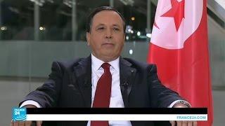 لقاء مع وزير الخارجية التونسي خميس الجهيناوي