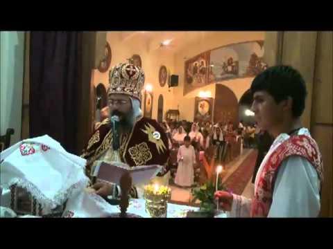 Sermon y Liturgia de Navidad 2012 ''Coptic Orthodox Church in Bolivia''
