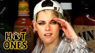 Kristen Stewart Brings the Angels to Eat Spicy Wings | Hot Ones
