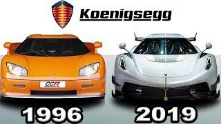 Koenigsegg - Evolution (1996 - 2019)