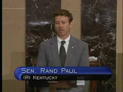 4/14/11: Sen. Rand Paul Speaks Out Against the Continuing Resolution