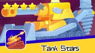 Tank Stars Day146 Mountain Walkthrough Epic Shooting Battle Game Recommend index four stars