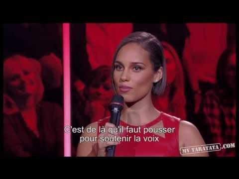 Alicia Keys - Interview - (Live On Taratata Nov 2012)