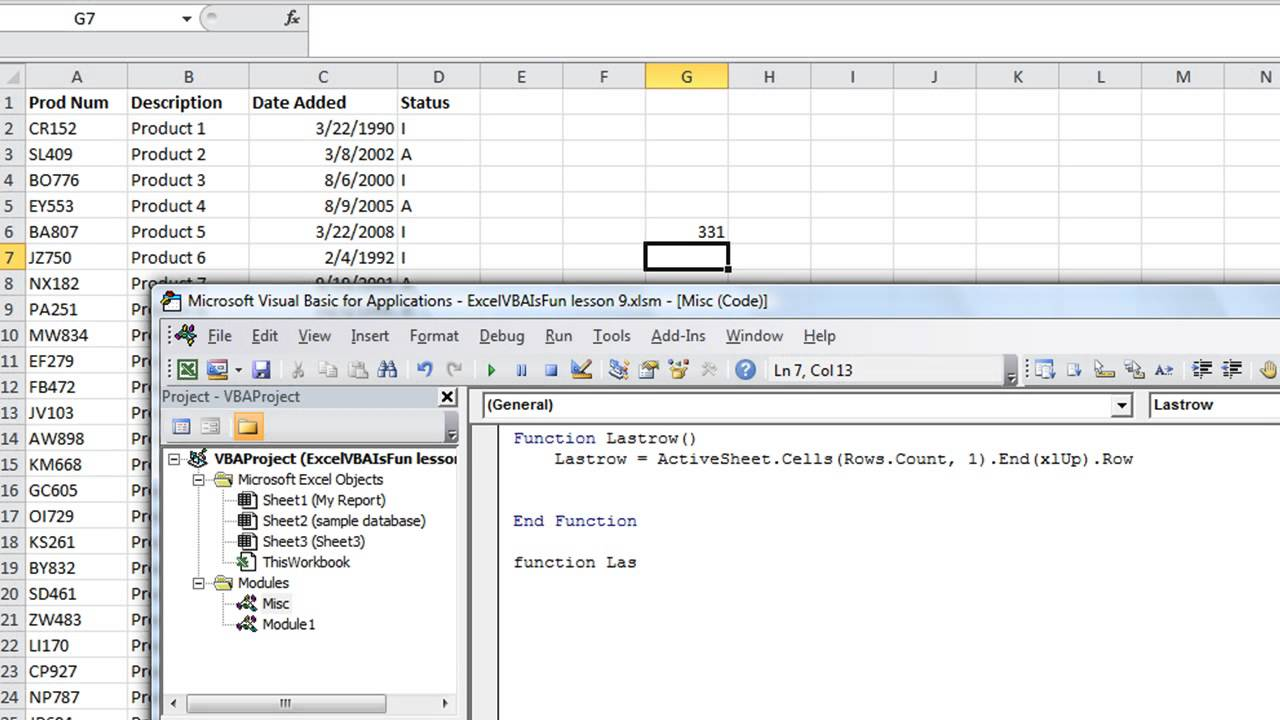How to write custom formulas in excel
