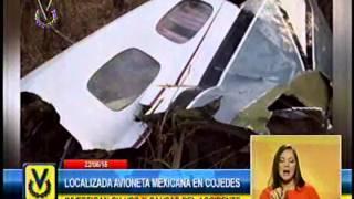 GNB localizó avioneta con siglas mexicanas siniestrada en fundo de Cojedes