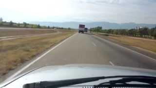Camión con acoplado a 130 km/h en ruta argentina!