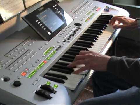 Spanish Eyes - Carlton - Yamaha Tyros 3