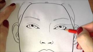 Урок 6 - Принцип построения глаза в карандашной технике
