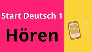 Start Deutsch 1 Hören   Goethe Zertifikat A1   Doovi