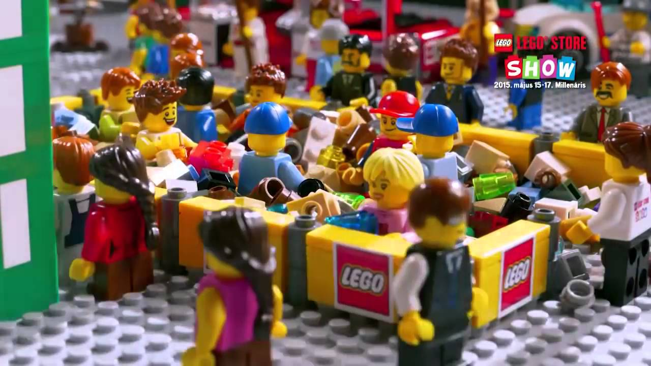 LEGO Store Budapest - LEGO Store Show - stop motion videó - YouTube 34d0aa11a0