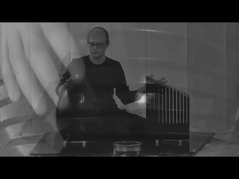 microtonal music with a stone - round and angle - hannes fessmann