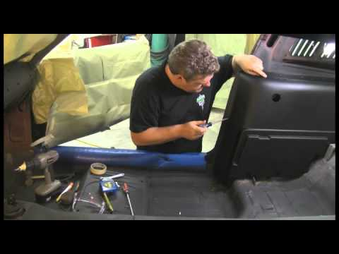Episode 8 Part 2 Custom Seat Belts In A Muscle Car