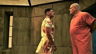 Сорвиголова 2x09 - Уилсон Фиск против Карателя в тюрьме