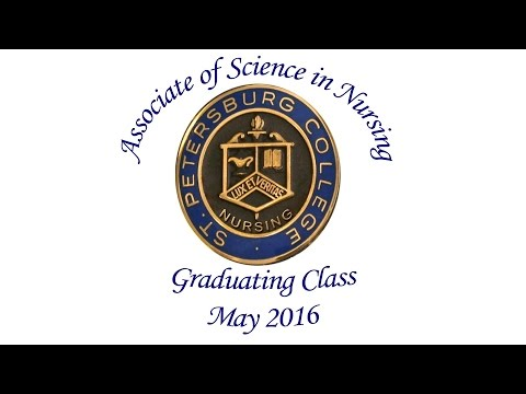 St Petersburg College - Spring 2016 Nursing Pinning Ceremony