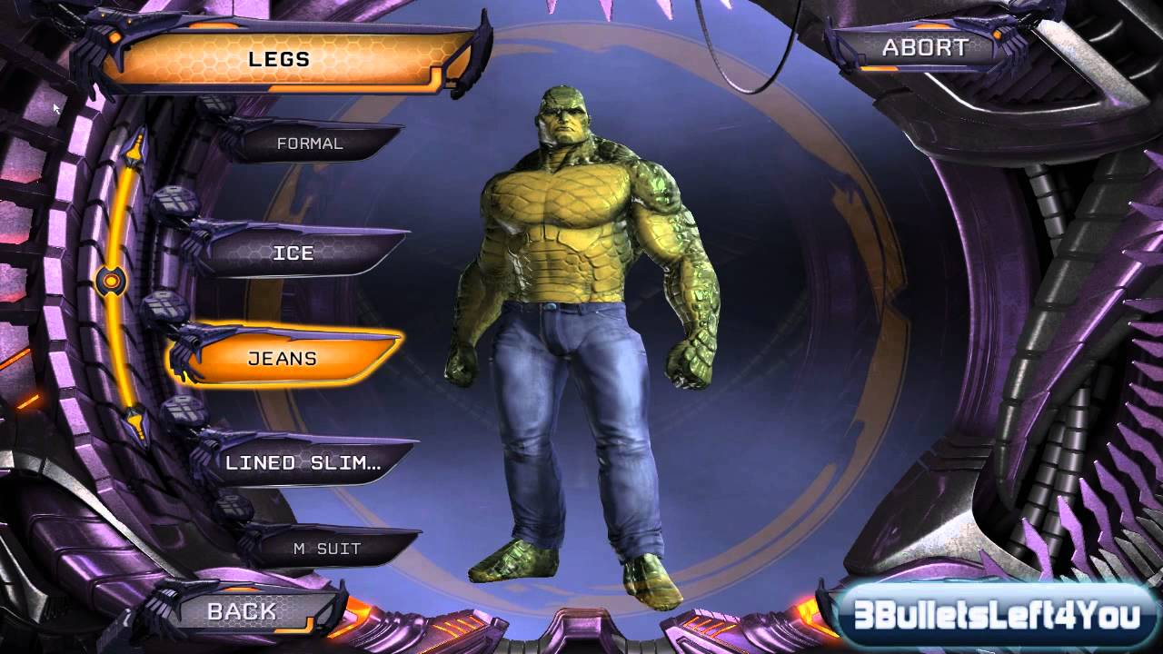 DC Universe Online:Character Creation - KILLER CROC ...