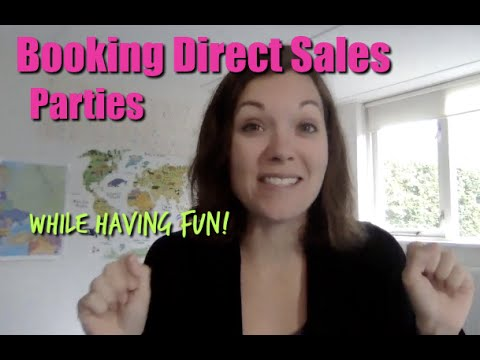 Booking Direct Sales Parties without Booking Parties