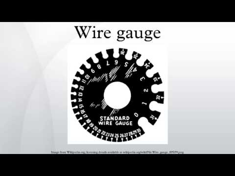 Wire gauge youtube greentooth Image collections