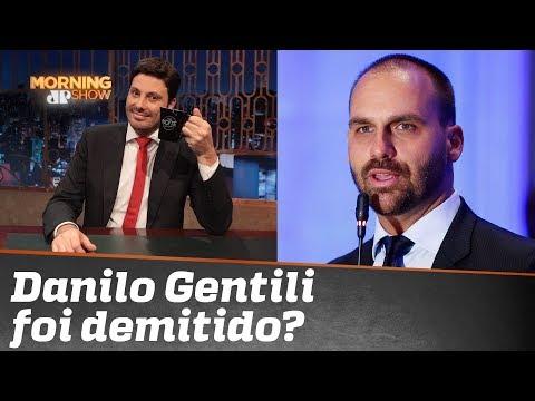 A demissão de Danilo Gentili
