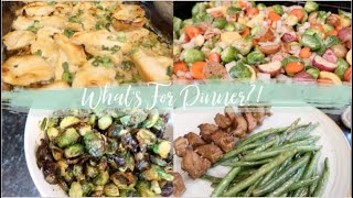 A Week of Healthy Simple Family Dinner Ideas! What's For Dinner?!
