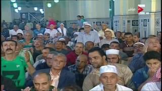 شعائر صلاة الجمعة من مسجد السيدة زينب ـ 12 مايو 2017