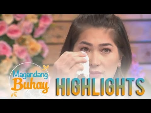 Magandang Buhay: Jackie Foster gets emotional sharing about her reunion with Kobe Paras