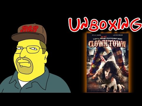 Clowntown DVD Unboxing