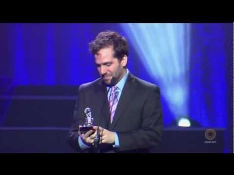 Adam Mathias wins Drama Desk Award
