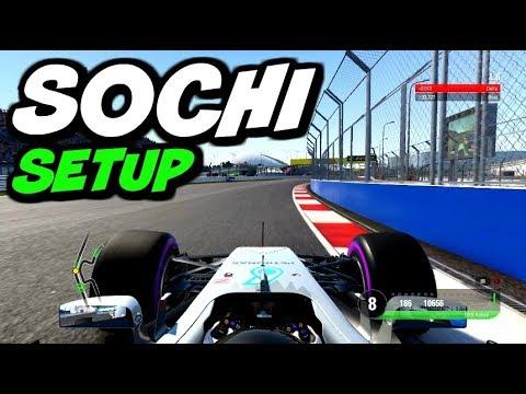 F1 2017 SOCHI HOTLAP + SETUP (1:33.327)