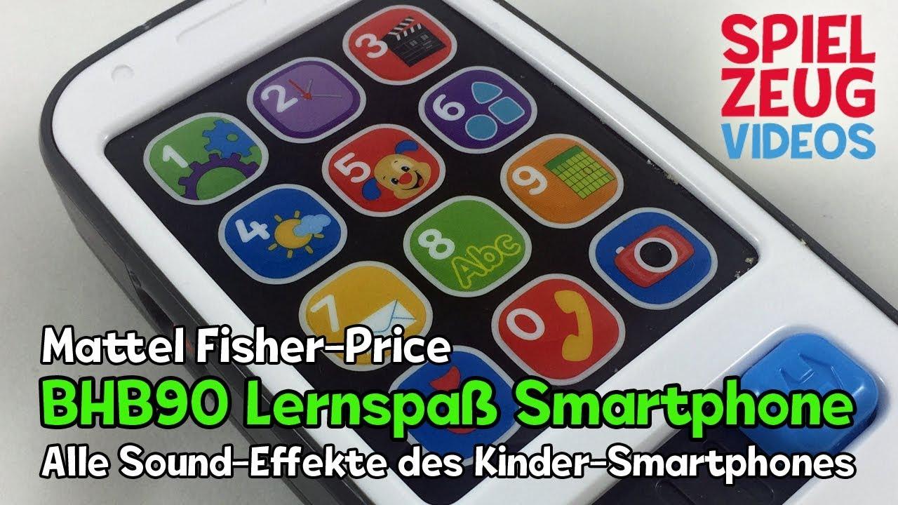Mattel BHB90 Fisher-Price Smart Phone Spiel Handy Spielzeug Babyspielzeug