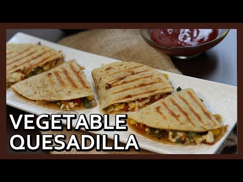 Popular Mexican Vegetable Quesadillas Recipe
