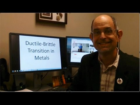 Lecture on Ductile-to-Brittle Transition