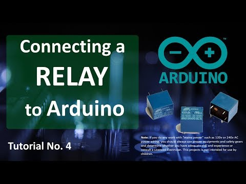 DRIVING A RELAY WITH AN ARDUINO
