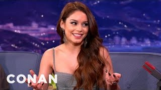 Vanessa Hudgens Dishes On Disney's Secret Club - CONAN on TBS