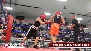 Rolando Cano vs Yousif Saleh Chicago Golden Gloves 2015