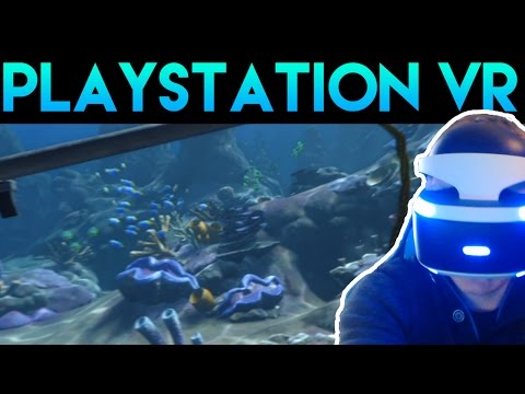 [TEST GAMING] PLAYSTATION VR : PRESENTATION , AVIS ET EXPERIENCE SOUS-MARINE !
