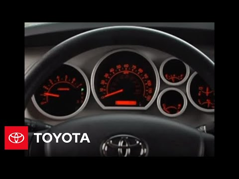 2007 2009 tundra how to instrument panel lighting toyota youtube. Black Bedroom Furniture Sets. Home Design Ideas
