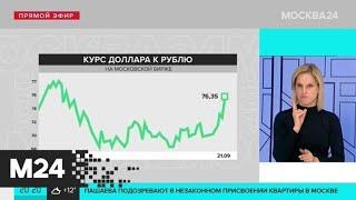 Москва 24 рассказала о состоянии курса валют вечером 21 сентября - Москва 24