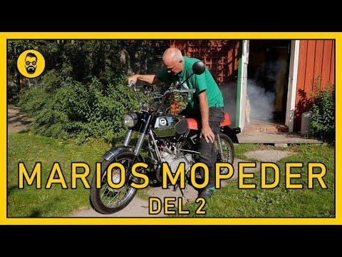 Marios trimmade moped DEL 2