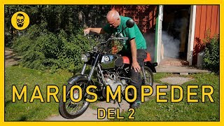 Marios trimmade moped DEL 2