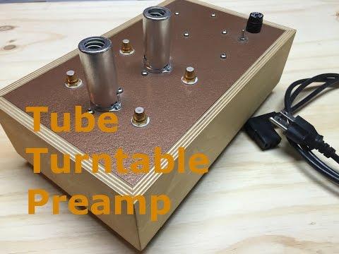 Tube Phono / Turntable Preamp