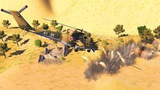 Afghan Village Defense Crushed by Russian Force | Call to Arms Gameplay