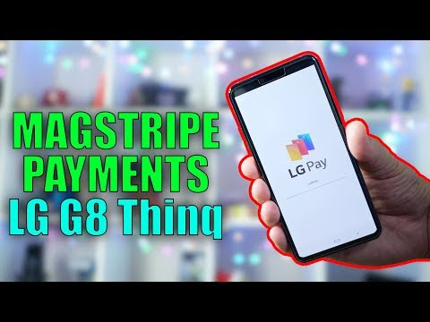 LG Pay with MagStripe Support - First look on LG G8 - YouTube