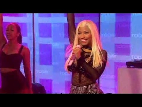 Nicki Minaj - Starships Live At Today Show HD 04-06-2012 - Starships Directo Best Performance 3D