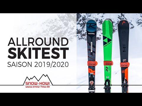 SKITEST: Allround Carver 2019/20 | FISCHER RC ONE 73 - ROSSIGNOL React R8 Ti  - HEAD V-Shape V6