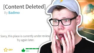 IF ROBLOX DELETED JAILBREAK.. *REACTION*