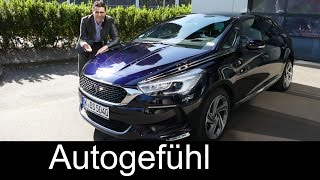 Citroen DS5 Facelift with new branding 2016 Hybrid 4x4 - Autogefühl