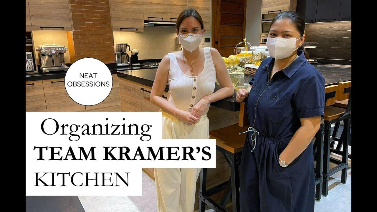 Re-Organizing @TEAM KRAMER 's  Kitchen | Neat Obsessions